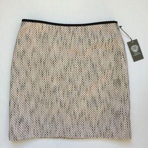 Vince Camuto Women's Tweed Pencil Skirt MSRP $89